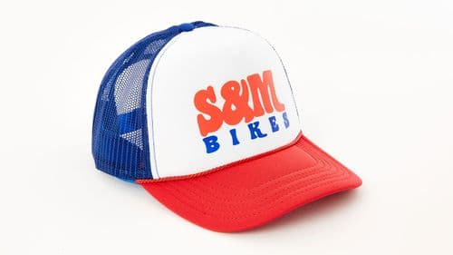 S&M Keep On Trucking Hat Red/White/Royal Blue